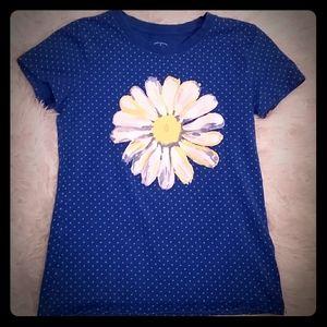 Girls Sunflower T shirt